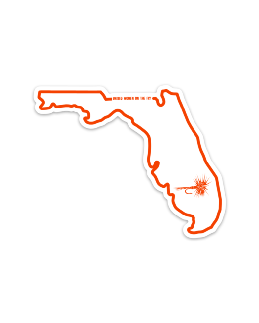 Florida United Women on the Fly Sticker