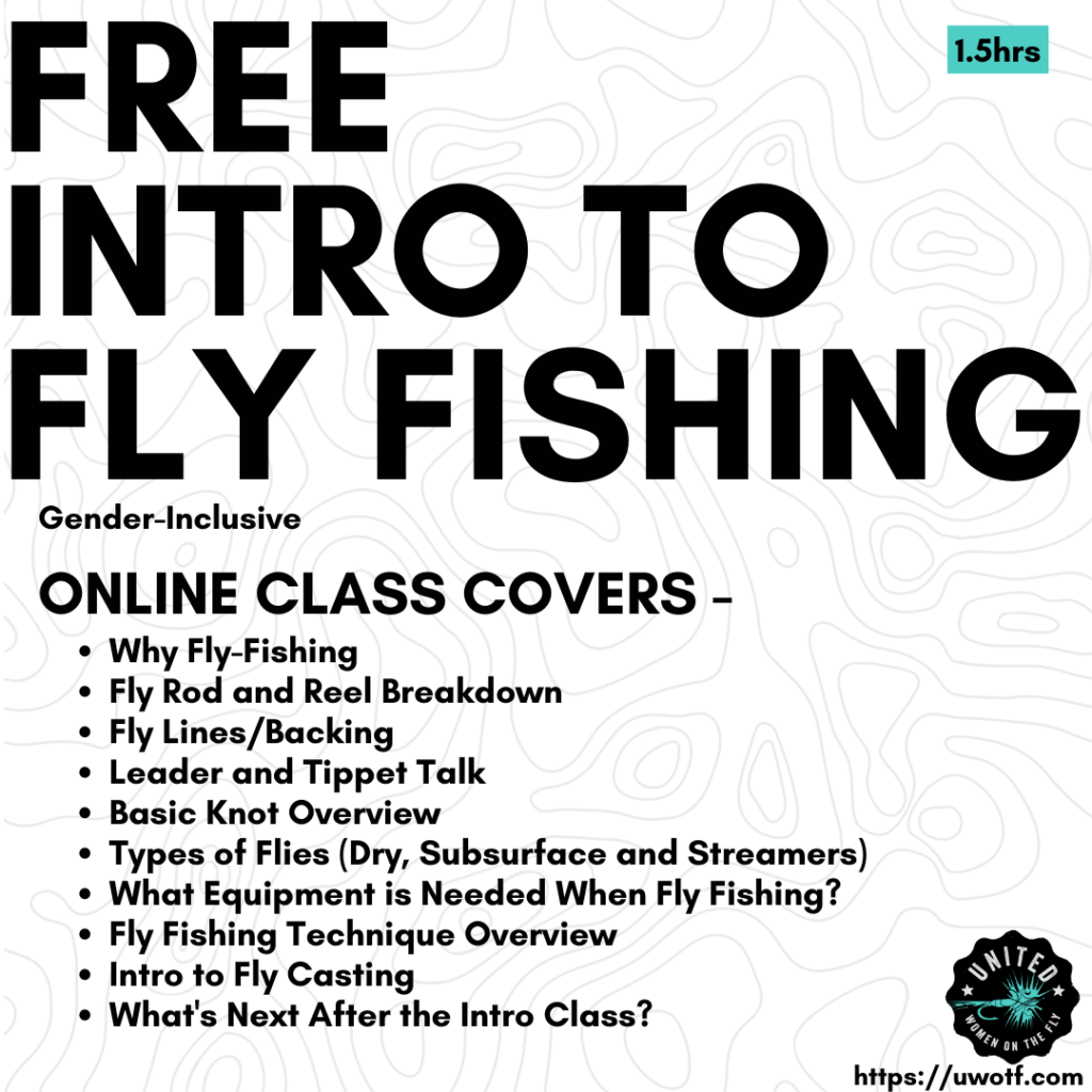 Free Fly Fishing Online Fly Fishing Course with United Women on the Fly