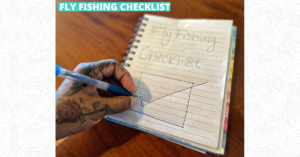 Fly Fishing Checklist - Featured Image 1200 x 628